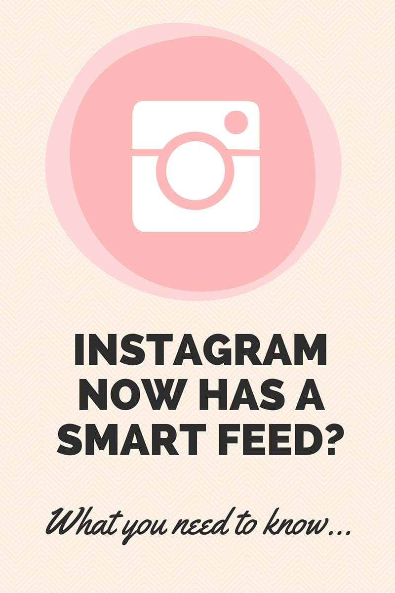 Instagram is experimenting with a Smart Feed! | MiloTree.com