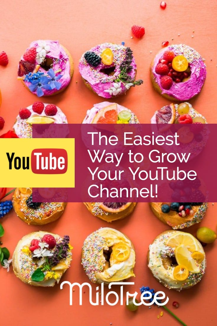 Grow your YouTube Channel with the MiloTree Pop-Up | MiloTree.com