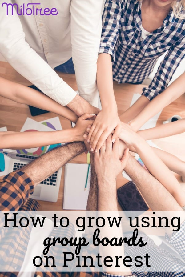 how to expand your business using group boards on Pinterest. We also go deep into what it's like to work with a blogging partner, how to use the new Pinterest lens feature, and why it's a good idea to teach your audience how best to interact with your content. #pinterest #blogging #amwriting #blog #socialmediamarketing #milotree