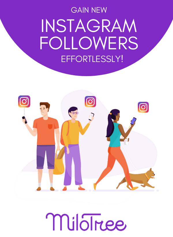 Gain New Followers on Instagram With the MiloTree Instagram Pop-Up! | MiloTree.com