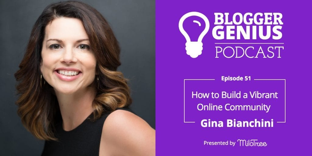 ow To Build A Vibrant Online Community with Gina Bianchini | MiloTree.com