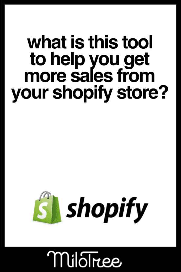 Get More Sales on Shopify With Your MiloTree Shopify Pop-Up | MiloTree.com