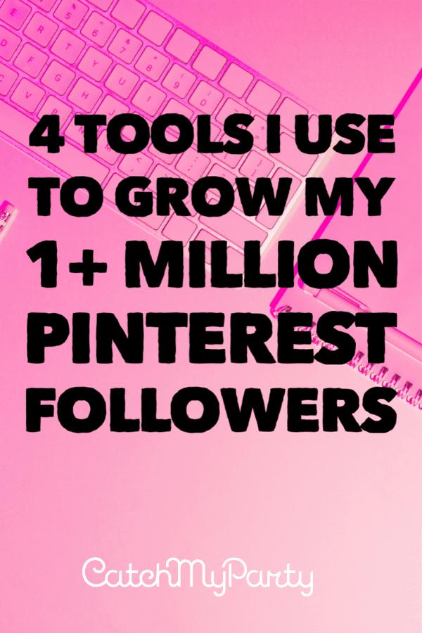 4 Tools I Use to Grow my 1+ Million Pinterest Followers   MiloTree.com