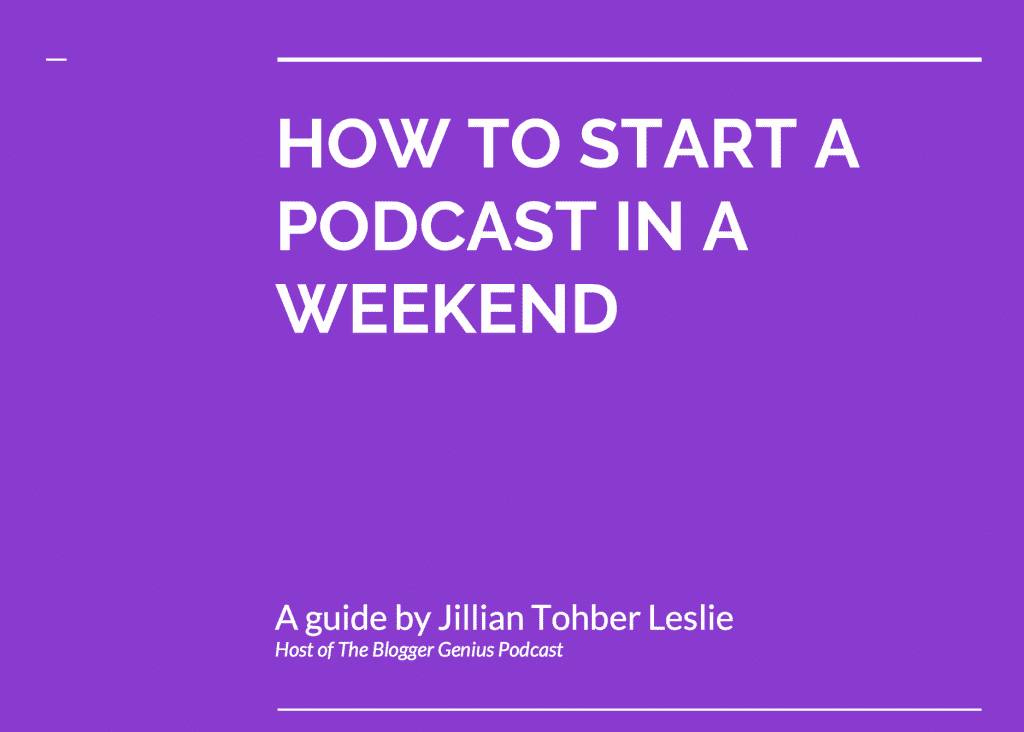 How to Start a Podcast in a Weekend Presentation | MiloTree.com