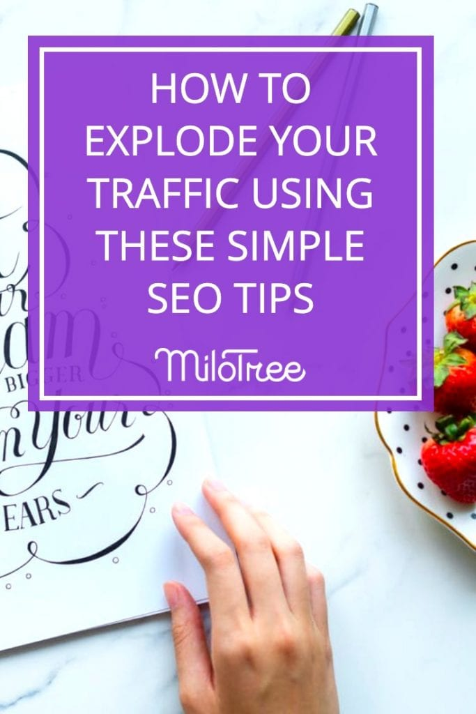 How to Explode Your Traffic Using Simple SEO Tips with Jeff Hawley | Blogger Genius Podcast